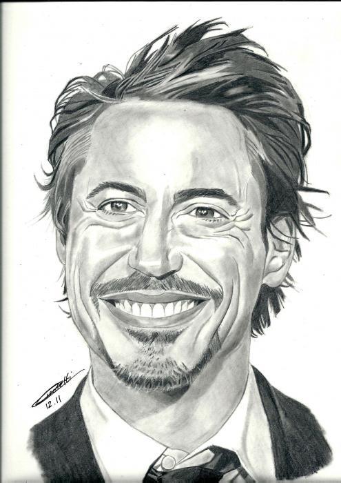 Robert Downey Jr par Fanfaron
